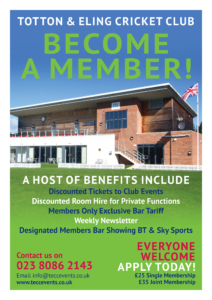 TECC Events Membership Poster