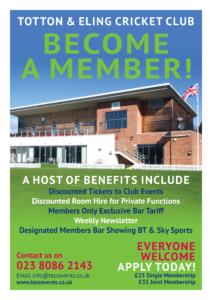 TECC Events Membership Poster