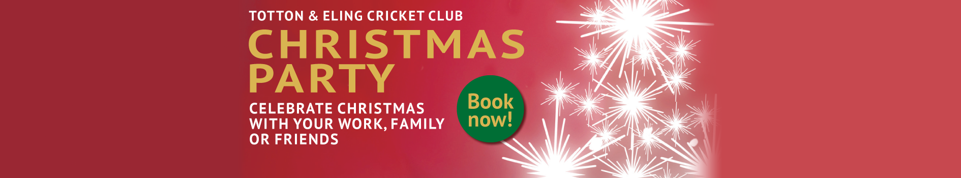 Christmas Party Night - Totton & Eling CC Events