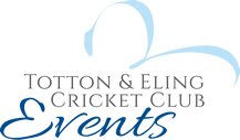 Totton & Eling Cricket Club Events Logo