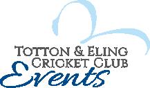 Totton & Eling Cricket Club Events Logo
