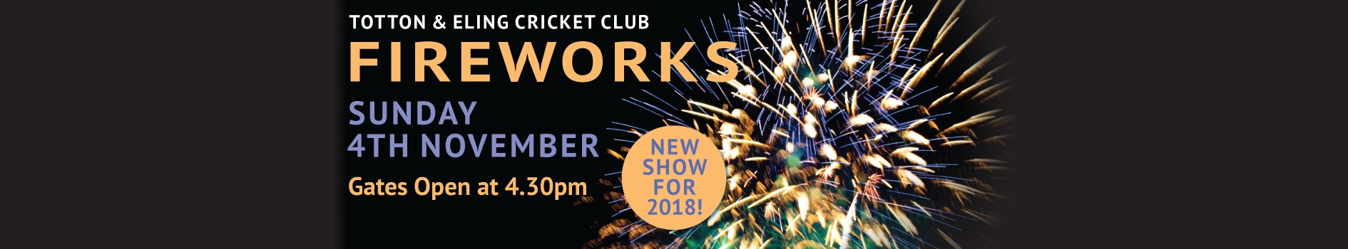 Totton & Eling CC - Fireworks 2018