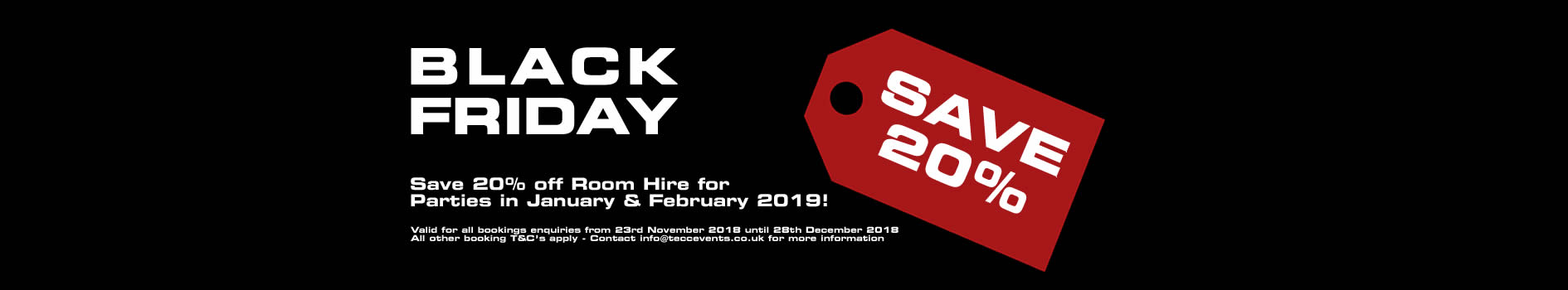 Black Friday Sale - Totton & Eling CC Events