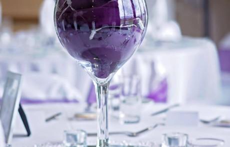 Table Centrepiece Vase - Totton & Eling CC Events-min