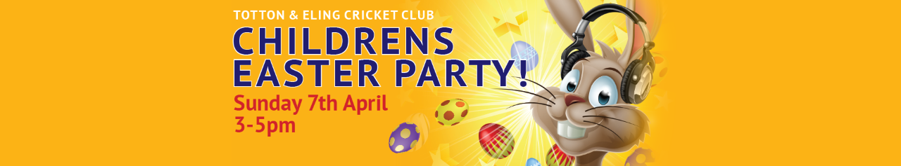 Childrens Easter Party Web Banner