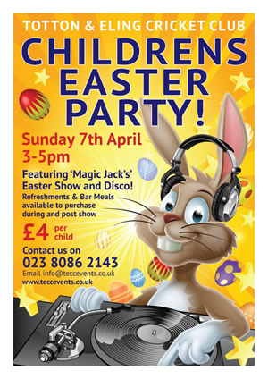 Childrens Easter Poster