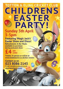 Totton & Eling CC Events - Childrens Easter Party