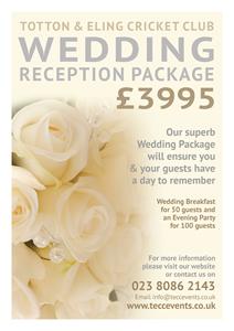 Wedding Reception Package